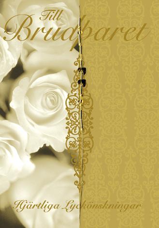 hjärtliga lyckönskningar till brudparet