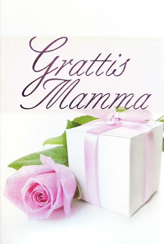 grattis mamma Grattis Mamma, Rosa ros och paket grattis mamma