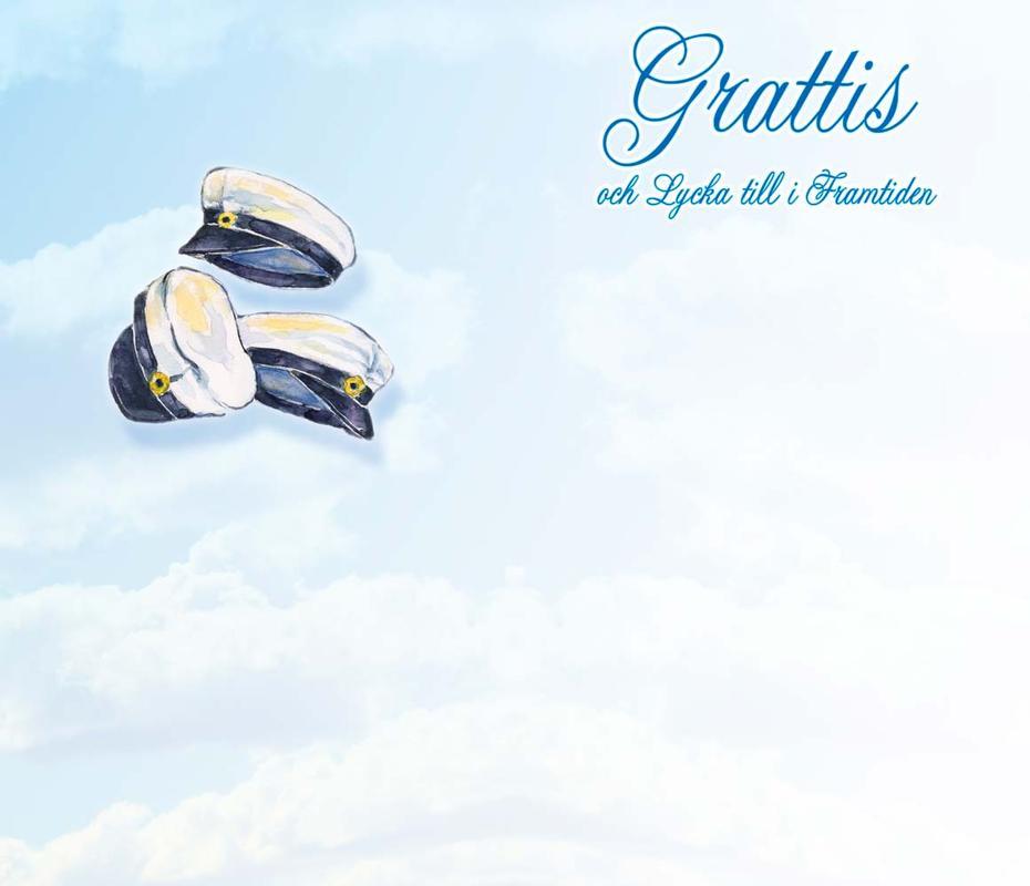 grattis till studenten vers 3 student mössor mot himmel, Vers, Grattis Till Studenten grattis till studenten vers