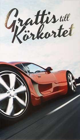 grattis till körkortet vykort Bil Grattis t Körkort grattis till körkortet vykort