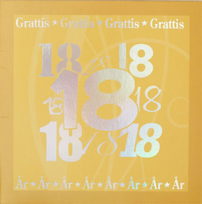 grattis text 18 år 18 år 1 100 år grattis text 18 år
