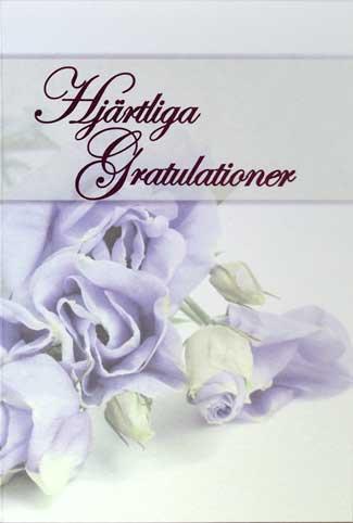stora gratulationer Lila Rosor, Hjärtliga Gratulationer stora gratulationer