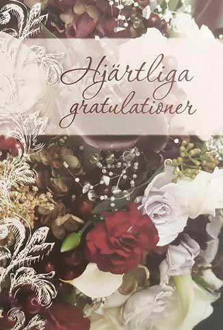 stora gratulationer Bukett, Hjärtliga Gratulationer stora gratulationer