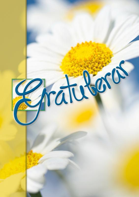 gratulerar Sommar blommor