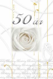 50år silverfolierad text