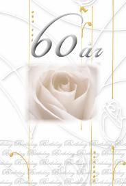 60år silverfolierad text