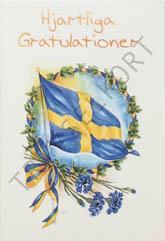 Flagga Hj. Gratulationer