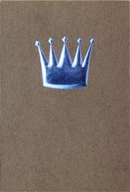 Blå krona