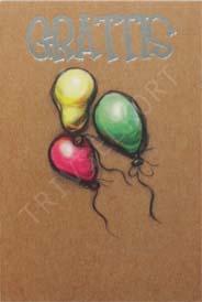 Miljökort Ballonger Grattis