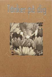 Miljö kort Vita Blommor Krya på dig