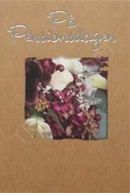 Miljö kort Blommor På Pensionsdagen