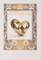 Guldringar, på Bröllopsdagen