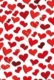 Hjärtan i massor