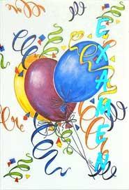 Ballonger & Serpentiner, utan text