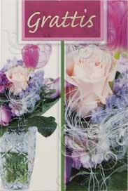 Blommor,Grattis