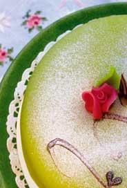 Minikort Princesstårta