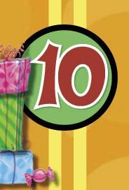 Årtalskort 10 år