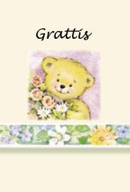 Nalle Grattis