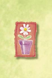 Blomma i kruka
