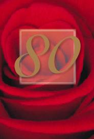 Röd ros 80år