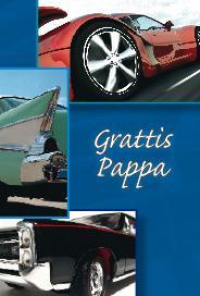 ''Grattis Pappa'' Fräcka bilar''
