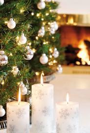Julstämning i vitt