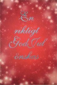 En riktigt God jul önskas…