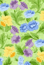 Blommigt mönster
