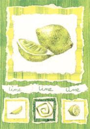 Lime grönt