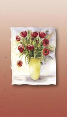 Bukett med rosor