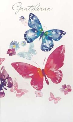 Fjärilar Textfri