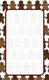 Pepparkaks mönster