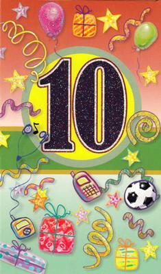 Årskort 10 år
