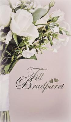 Brudbukett i vitt