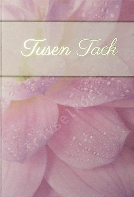 Makro rosa blomma, Tusen tack
