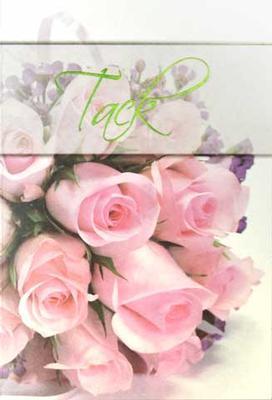 Tack rosa ros