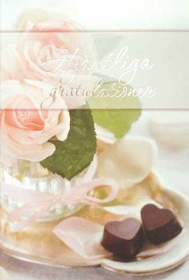 Hjärtliga Gratulationer Blommor & Choklad