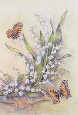 Fjärllar och liljekonvaljer