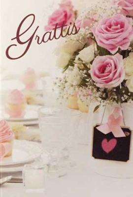 Grattis Rosa rosor
