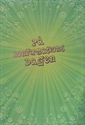 På Konfirmationsdagen, grönt mönster