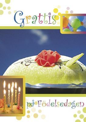 Prinsesstårta, ballonger & ljus
