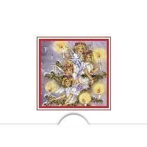 Jul änglar i akvarell