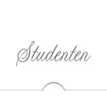 '' Studenten '' Folierad text