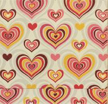 Hjärtmönster, textfri
