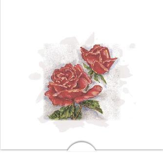 Rosor i akvarell