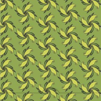 Grönt snirkel mönster