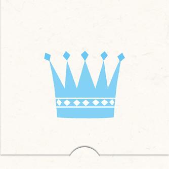 Folierad Krona pojke