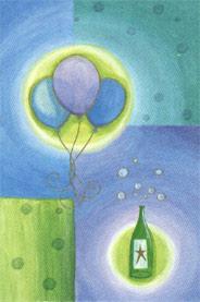 Målade ballonger
