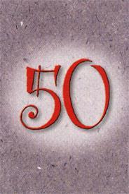 Årtalskort 50 år