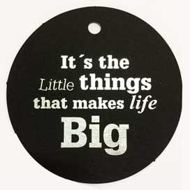 It´s the little things..